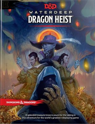 D&D Waterdeep Dragon Heist HC