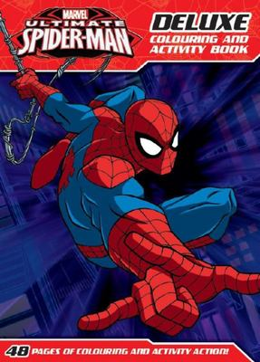 Marvel Ultimate Spiderman Deluxe Colouring and Activity Book