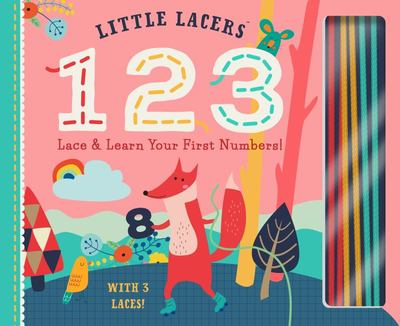 123 - Lace and Learn Your First Numbers!