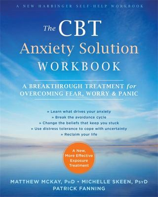 CBT Anxiety Solution Workbook