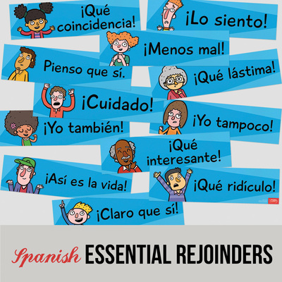 Essential Spanish phrases - classroom signs