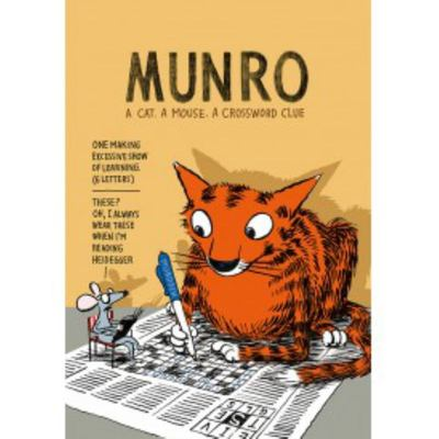 Munro: A Cat. A Mouse. A Crossword Clue
