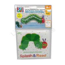 The Very Hungry Caterpillar Bath Book & Squirter