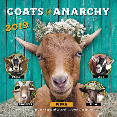 Goats of Anarchy 2019 - 16-Month Calendar - September 2018 Though December 2019