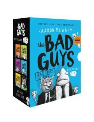 The Bad Guys Baddest Box: Episodes 1-6