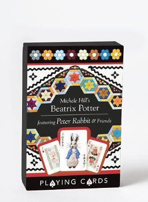 Michele Hill's Beatrix Potter Playing Cards - A Delightful Deck of Playing Cards Featuring Peter Rabbit and Friends