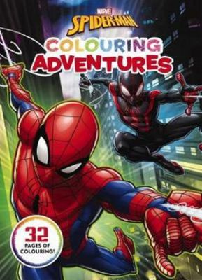Marvel - Spider-Man Colouring Adventures