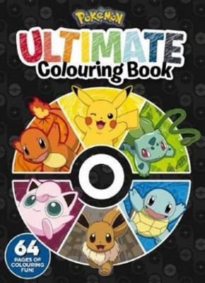Pokemon: Ultimate Colouring Book