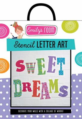 Emily's Room: Stencil Letter Art Kit