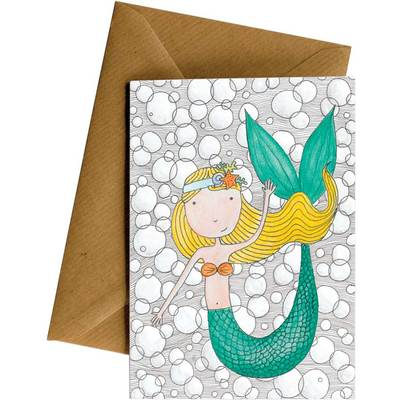Card LD Mermaid