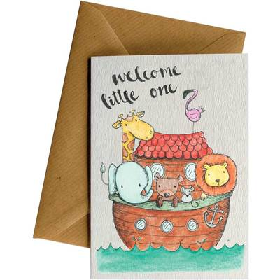 Card LD Welcome Little One