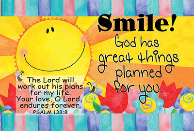 Post Sm: Smile! God Has Great Things Planned