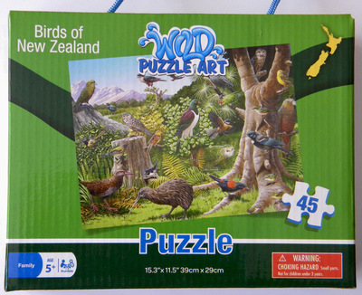 Birds of New Zealand Puzzle (45pc)