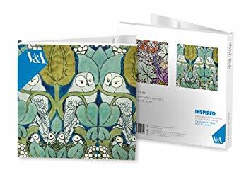 Voysey Birds Notecard Wallet pk8 (M&G_251004)