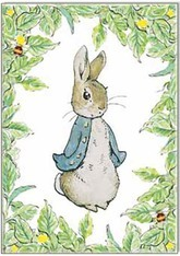 Beatrix Potter Peter Rabbit card