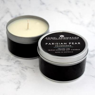 Travel Tin Candle - Parisian Pear