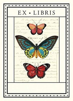 Ex Libris Butterflies Bookplates