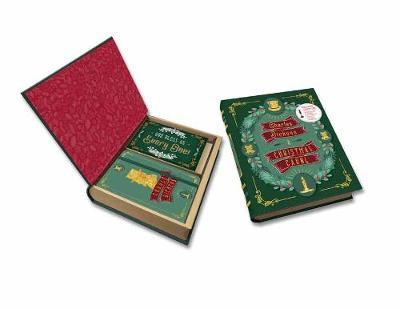 Charles Dickens: a Christmas Carol Deluxe Note Card Set (with Keepsake Book Box)
