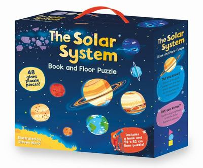 The Solar System Book & Floor Puzzle