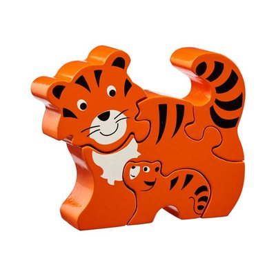 Tiger and Cub Fairtrade Wooden Jigsaw