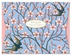 MG-308326 Writing Set - Almond Blossom and Swallow