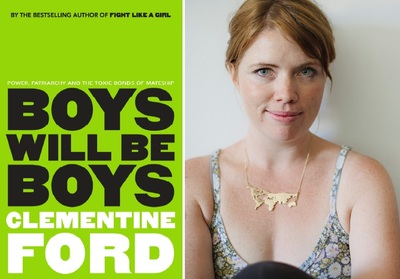 Clementine Ford in conversation - Boys will be Boys - Thursday 11th October at 6.30pm - TICKET ONLY
