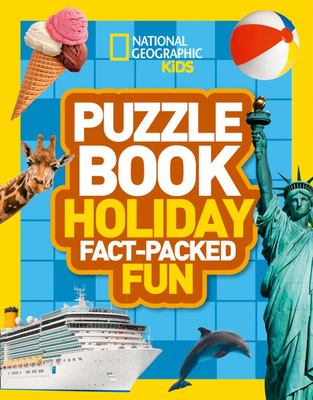 Puzzle Book - Holiday (National Geographic Kids)