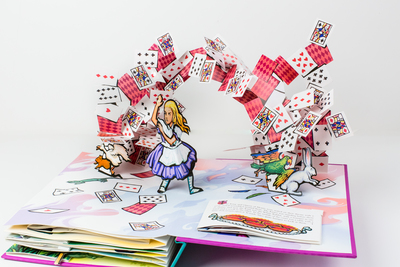 Alice in Wonderland Pop Up