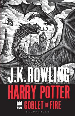 Harry Potter and the Goblet of Fire: Adult Cover (#4 PB)
