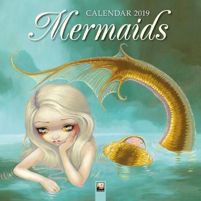 2019 Mermaids Wall Calendar