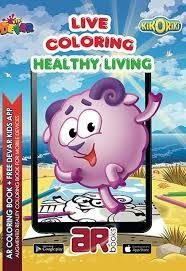 Healthy Living (Live Colouring)
