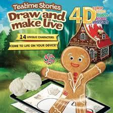 Teatime Stories (Draw and make live)
