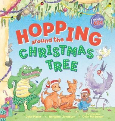 Hopping Around the Christmas Tree HB + CD
