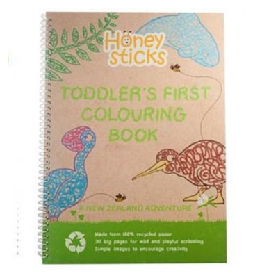 Toddler Colouring Book - A New Zealand Adventure