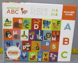 Animal ABC Floor Puzzle (24pc)