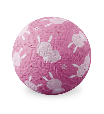 Croc Creek Pink Bunnies Playground Ball