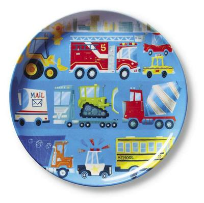 Melamine Plate - Busy City