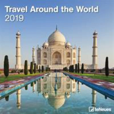 2019 Travels Around the World 30x30cm Wall Calendar