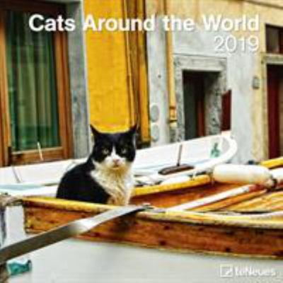 2019 Cats Around the World 2019 30x30cm Wall Calendar
