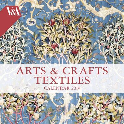 2019 Arts and Crafts Textiles Wall Calendar (V&A Art Calendar)