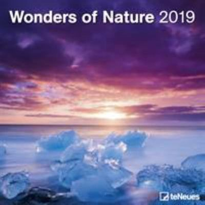 2019 Wonders of Nature 30x30cm Wall Calendar