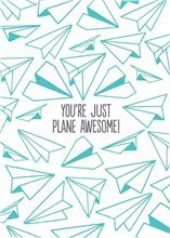 Plane Awesome Card