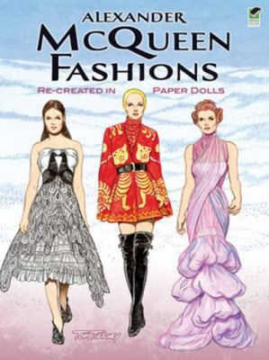 Alexander McQueen Fashions - Re-Created in Paper Dolls