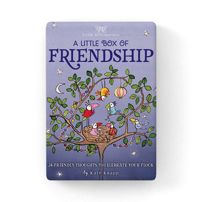 A Little Box of Friendship - 24 Affirmation cards