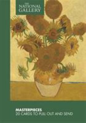 NATIONAL GALLERY MASTERPIECES 20 POSTCARDS