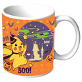 Pokemon Coffee Mug Pikachu Happy Halloween