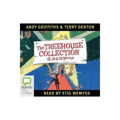 The Treehouse Collection: 52, 65 and 78 Storeys (Audio CD, unabridged, 6 CDs)