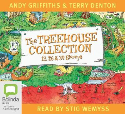 The Treehouse Collection: 13, 26 and 39 Storeys (Audio CD, unabridged, 6 CDs)