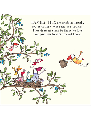 CARD - FAMILY TIES