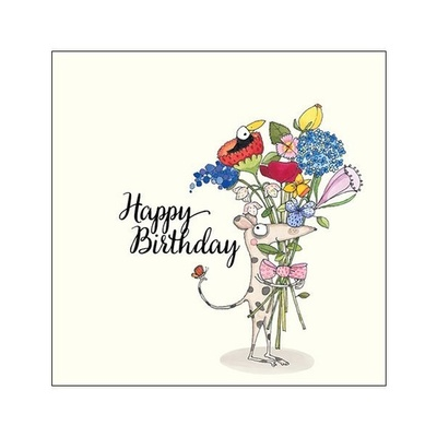 CARD - HAPPY BIRTHDAY MOUSE